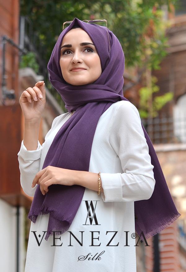 Sura Simli Dokuma Cotton Şal 35279-011