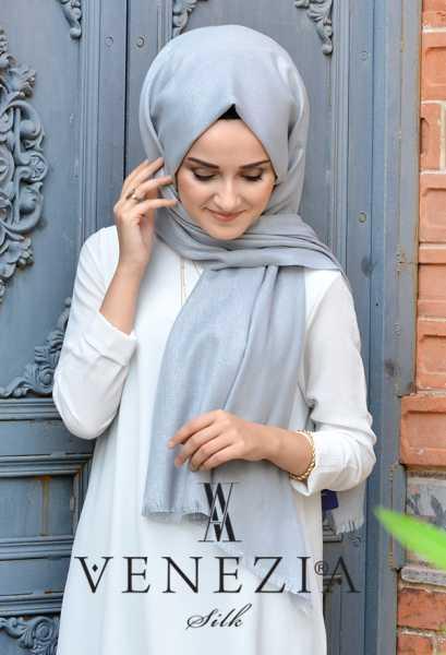 SURA İPEK - Sura Simli Dokuma Cotton Şal 35279-012 (1)