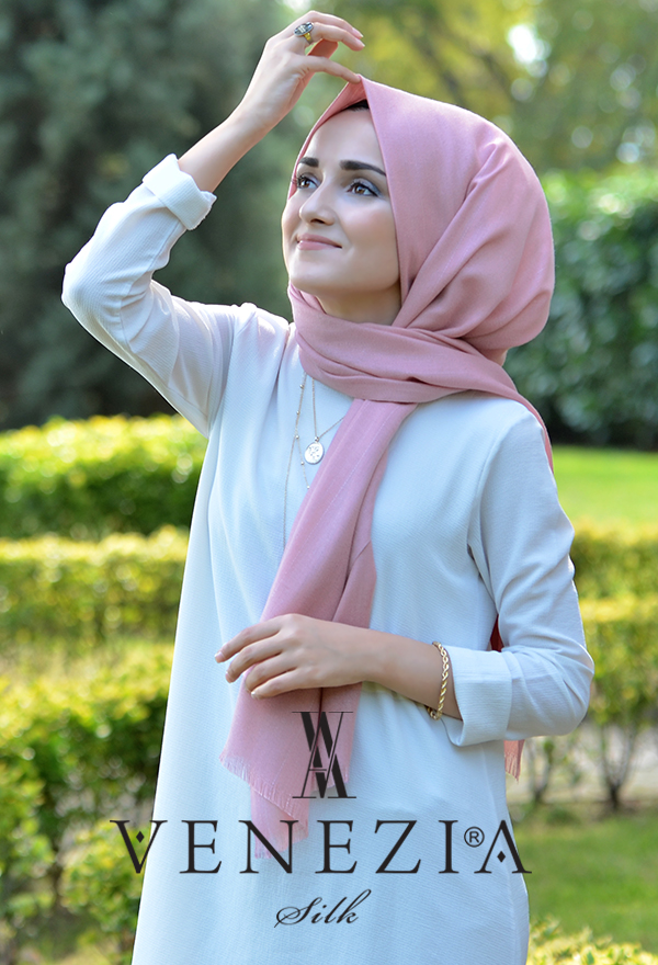 Sura Simli Dokuma Cotton Şal 35279-015