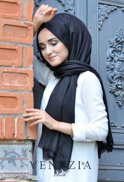 SURA İPEK - Sura Simli Dokuma Cotton Şal 35279-017 (1)