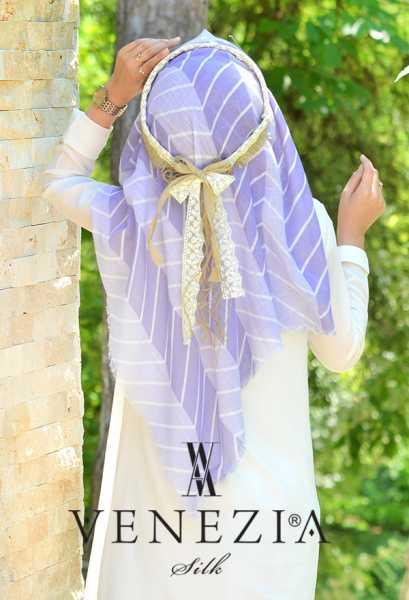SURA İPEK - Sura Zikzak Desen Cotton Şal 35269-004 (1)
