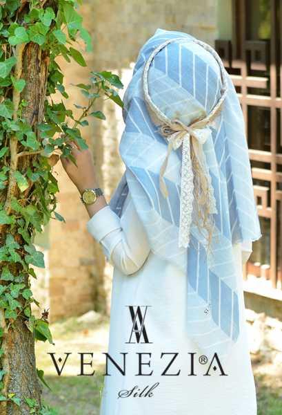 SURA İPEK - Sura Zikzak Desen Cotton Şal 35269-005 (1)