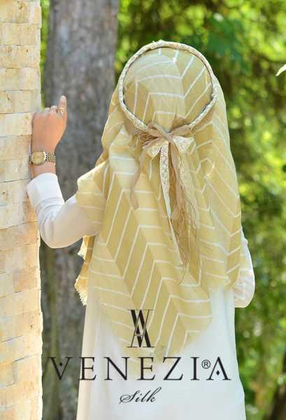 SURA İPEK - Sura Zikzak Desen Cotton Şal 35269-007 (1)