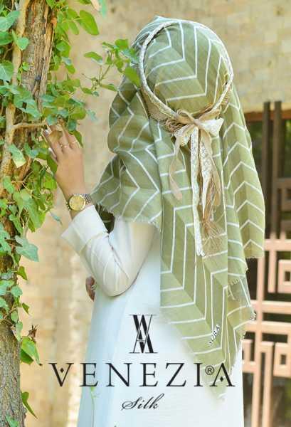 SURA İPEK - Sura Zikzak Desen Cotton Şal 35269-009 (1)