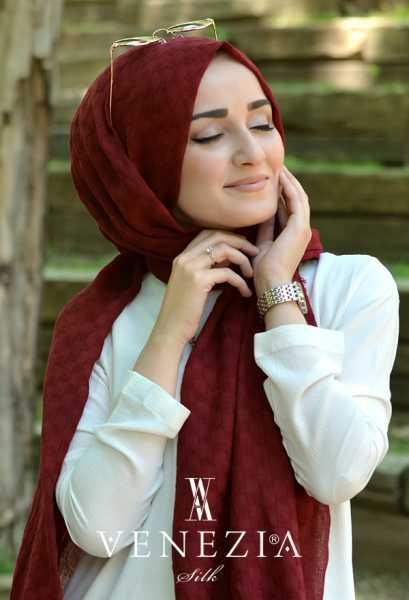 Us. Polo Assn. - U.s. Polo Assn. Düz Renk Kare Dokuma Cotton Şal 31309-003 (1)