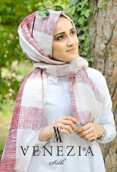 Us. Polo Assn. - U.s. Polo Assn. Kare Desen Cotton Şal 35252-001 (1)