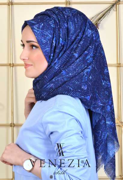 Us. Polo Assn. - U.s. Polo Assn. Sedef Desen Cotton Şal 35237-002 (1)