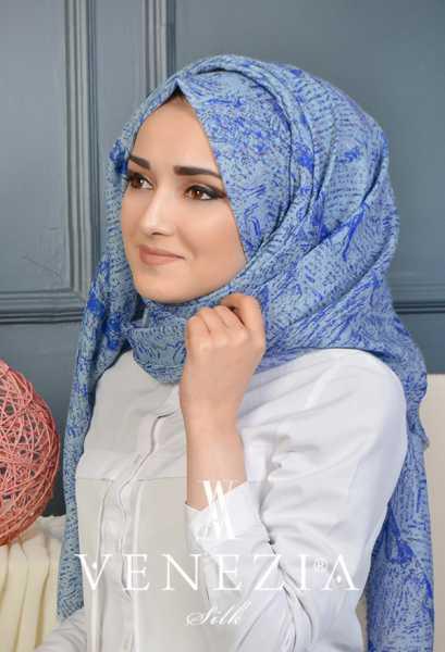 Us. Polo Assn. - U.s. Polo Assn. Sedef Desen Cotton Şal 35237-010 (1)