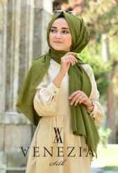 Vanensis Düz Renk Cotton Şal 36225-013 - Thumbnail