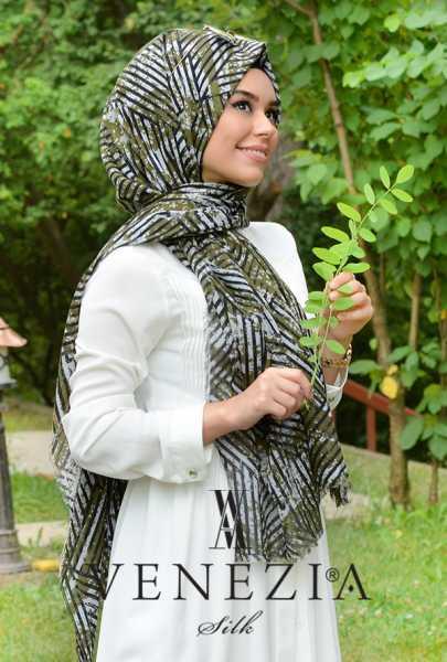 3 Adet Şal 100 tl - Vanensis Gölge Desen Cotton Şal 35240-007 (1)