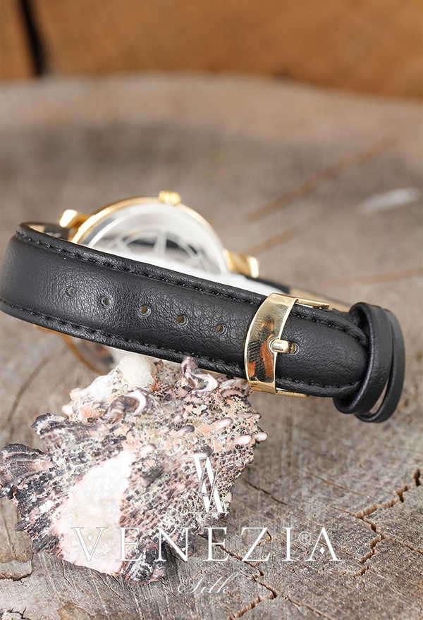 VENEZİA SAAT - Venezia Deri Kordonlu Bayan Saat BS1156 (1)