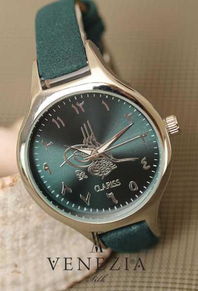VENEZİA SAAT - Venezia Deri Kordonlu Bayan Saat BS1580 (1)