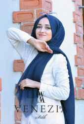 Venezia Silk Tam Fileli Cotton Şal 31310-008 - Thumbnail