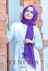 Venezia Silk Tam Fileli Cotton Şal 31310-024 - Thumbnail