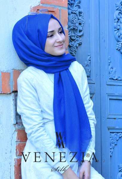 Us. Polo Assn. - Venezia Silk Tam Fileli Cotton Şal 31310-001 (1)