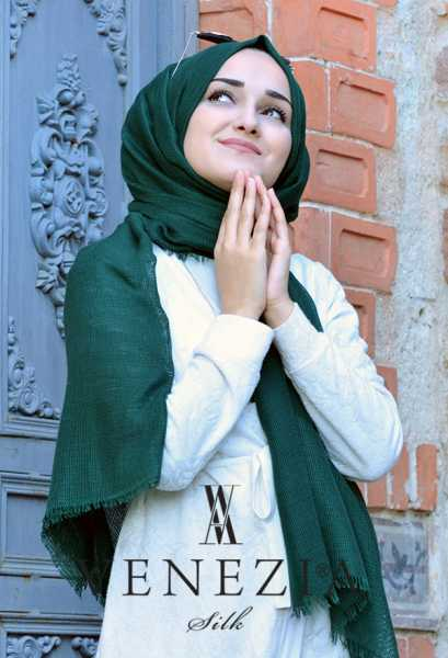 Us. Polo Assn. - Venezia Silk Tam Fileli Cotton Şal 31310-009 (1)