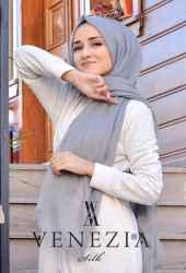 Venezia Silk Tam Fileli Cotton Şal 31310-015 - Thumbnail
