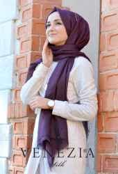 Venezia Silk Tam Fileli Cotton Şal 31310-021 - Thumbnail