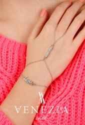 Venezia Silk Taşlı Bayan Şahmeran Bileklik SN211 - Thumbnail
