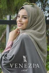 VENEZİA SULTAN SİMLİ ŞAL KOLEKSİYONU 32060-011 - Thumbnail