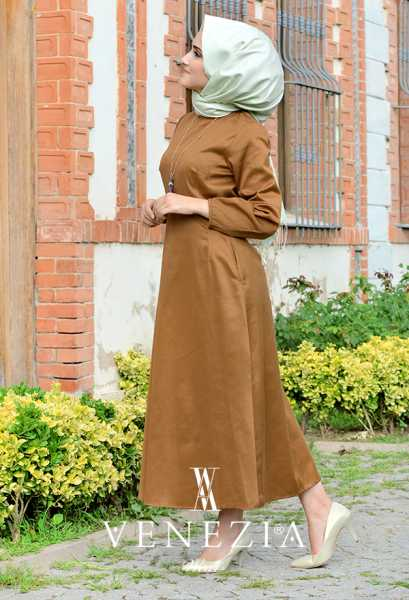 VENEZİA WEAR - Venezia Wear Cepli Elbise 2895-002 (1)