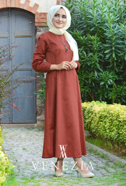 VENEZİA WEAR - Venezia Wear Cepli Elbise 2895-003 (1)