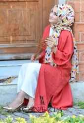 Venezia Wear Düz Renk Kuşaklı Kimono 8020-002 - Thumbnail