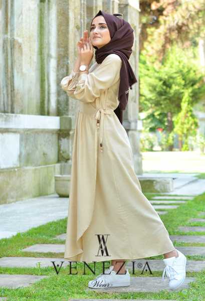 VENEZİA WEAR - Venezia Wear Mevsimlik Elbise 2894-001 (1)