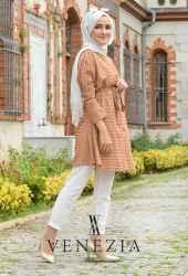 Venezia Wear Mevsimlik Kuşaklı Takım 2874-002 - Thumbnail