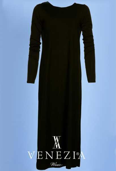 VENEZİA WEAR - Venezia Wear Uzun Kollu İç Elbise 6078-003 (1)